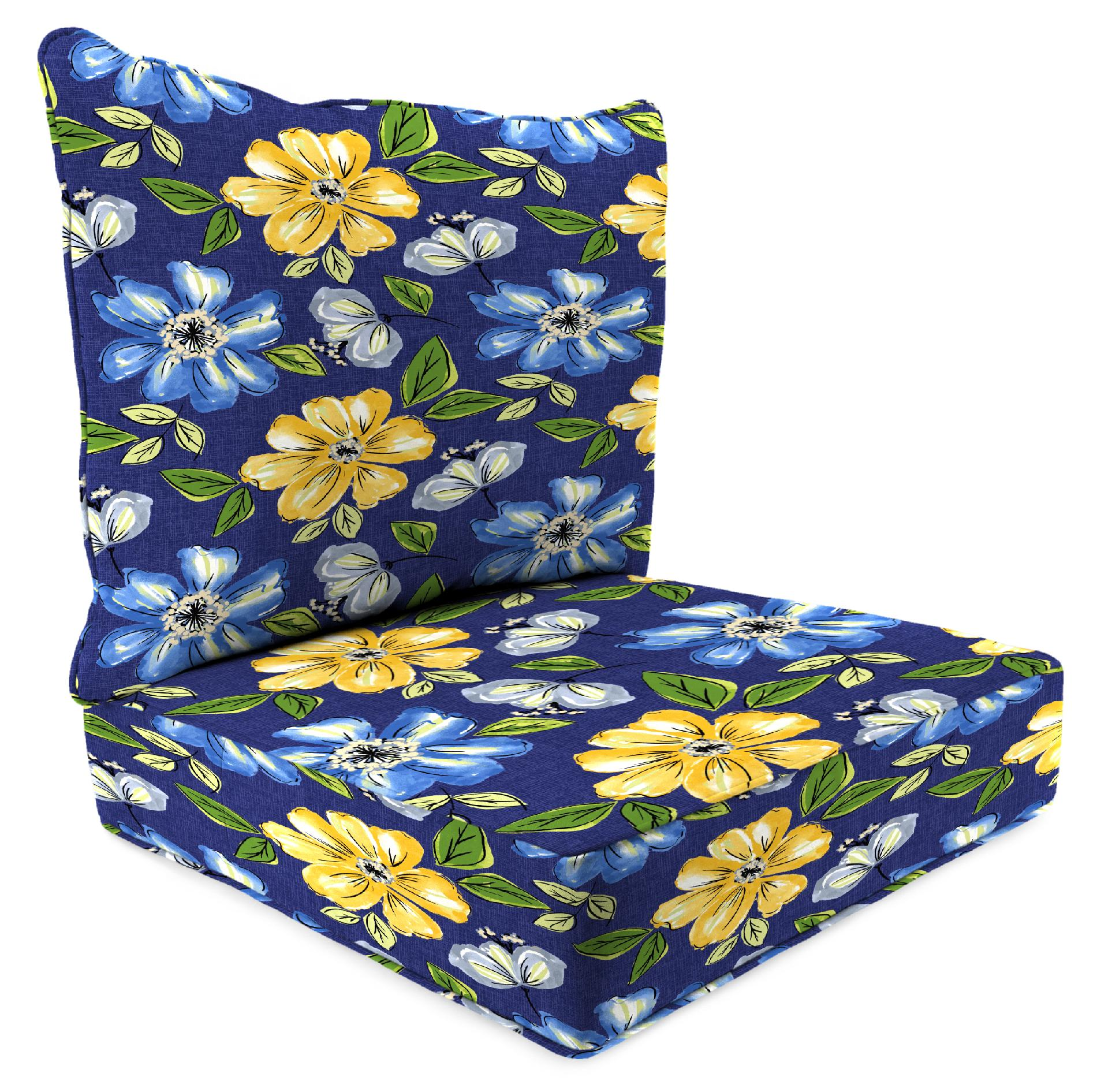 boxed chair cushions lyndsey linens and covers jordan manufacturing co inc 2 piece deep seat