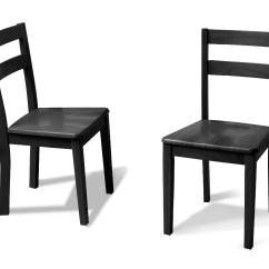 Black Parsons Chair How To Build A Adirondack Dorel Home Furnishings 2 Pack Dining