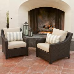 Sears Patio Chair Covers Large Sitting Room Chairs Rst Brands Slate™ Club (2-pack)