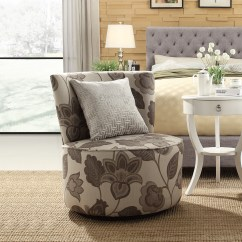 Swivel Chair Nebraska Furniture Mart Leather Dining Chairs With Arms Oxford Creek Transitional Blake Grey Floral Accent
