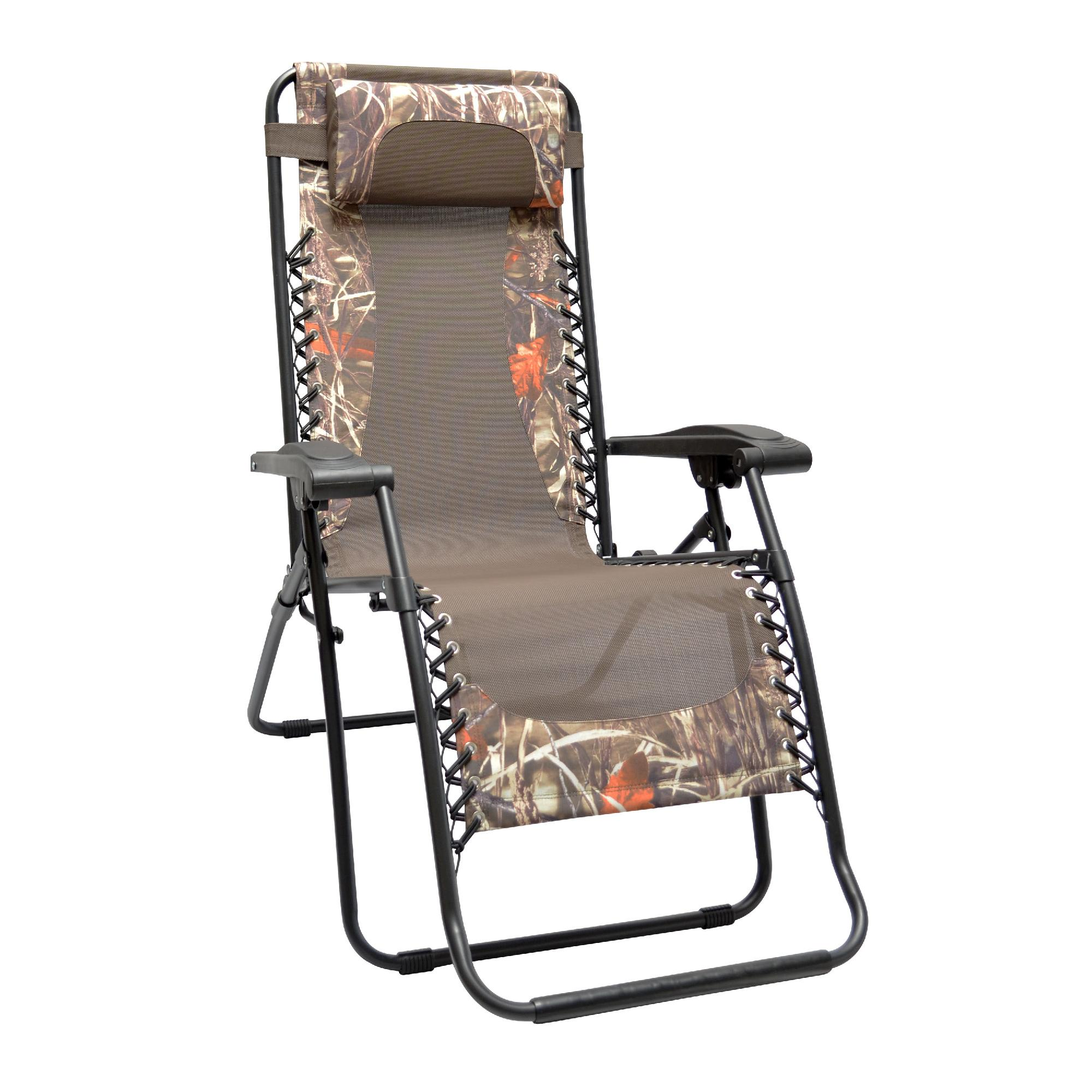 caravan canopy folding chairs lazyboy chair accessories sports infinity zero gravity camouflauge