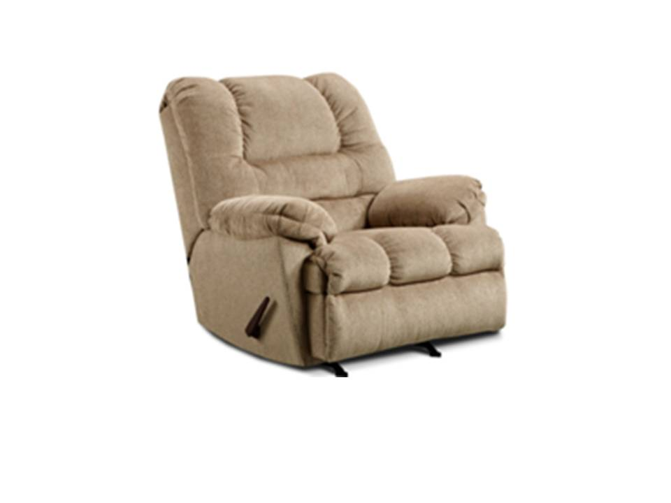 rocker and recliner chair wedding covers hire melbourne recliners chairs sears simmons upholstery in tan