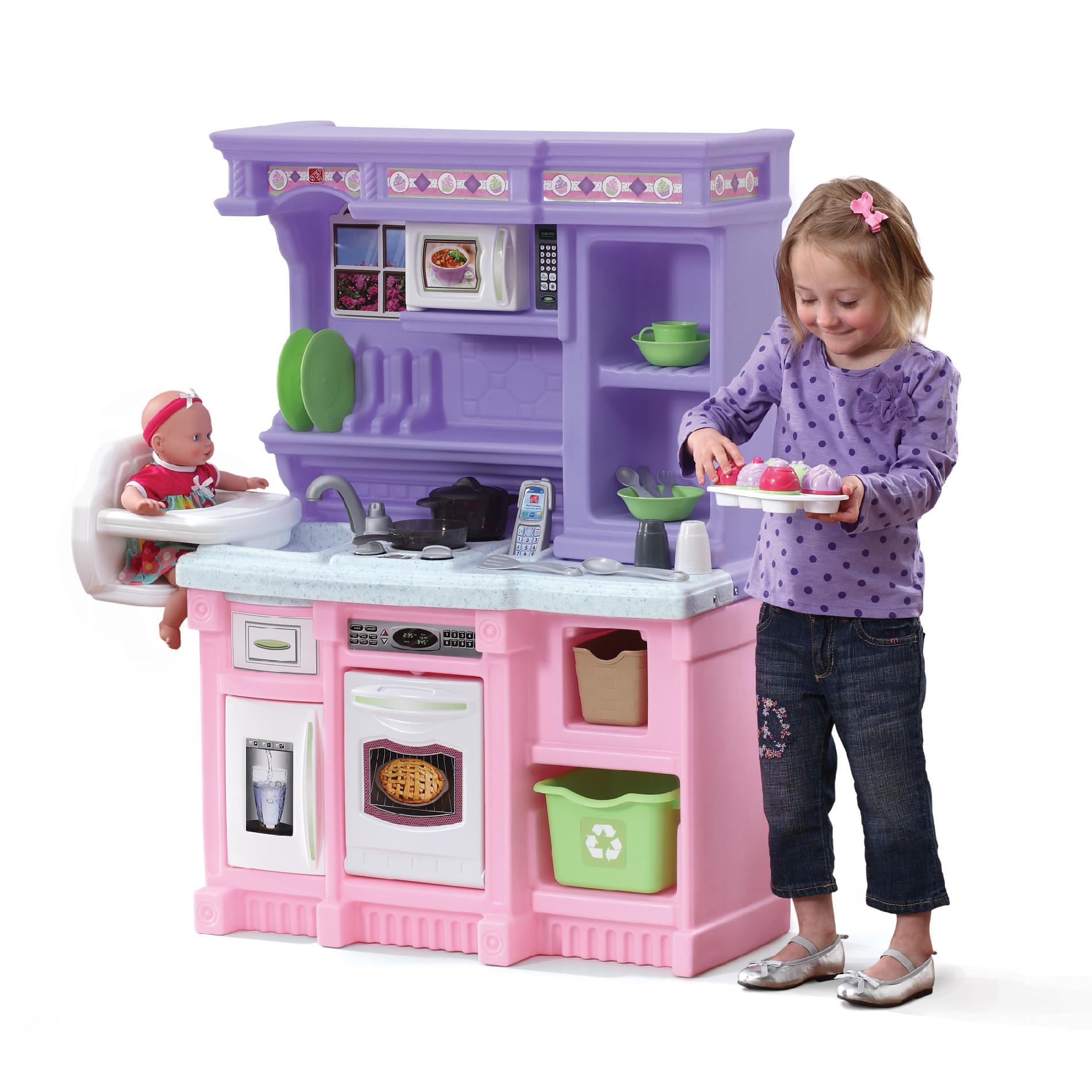 baby pink kitchen appliances distressed wood cabinets step 2 little baker 39s toys and games pretend