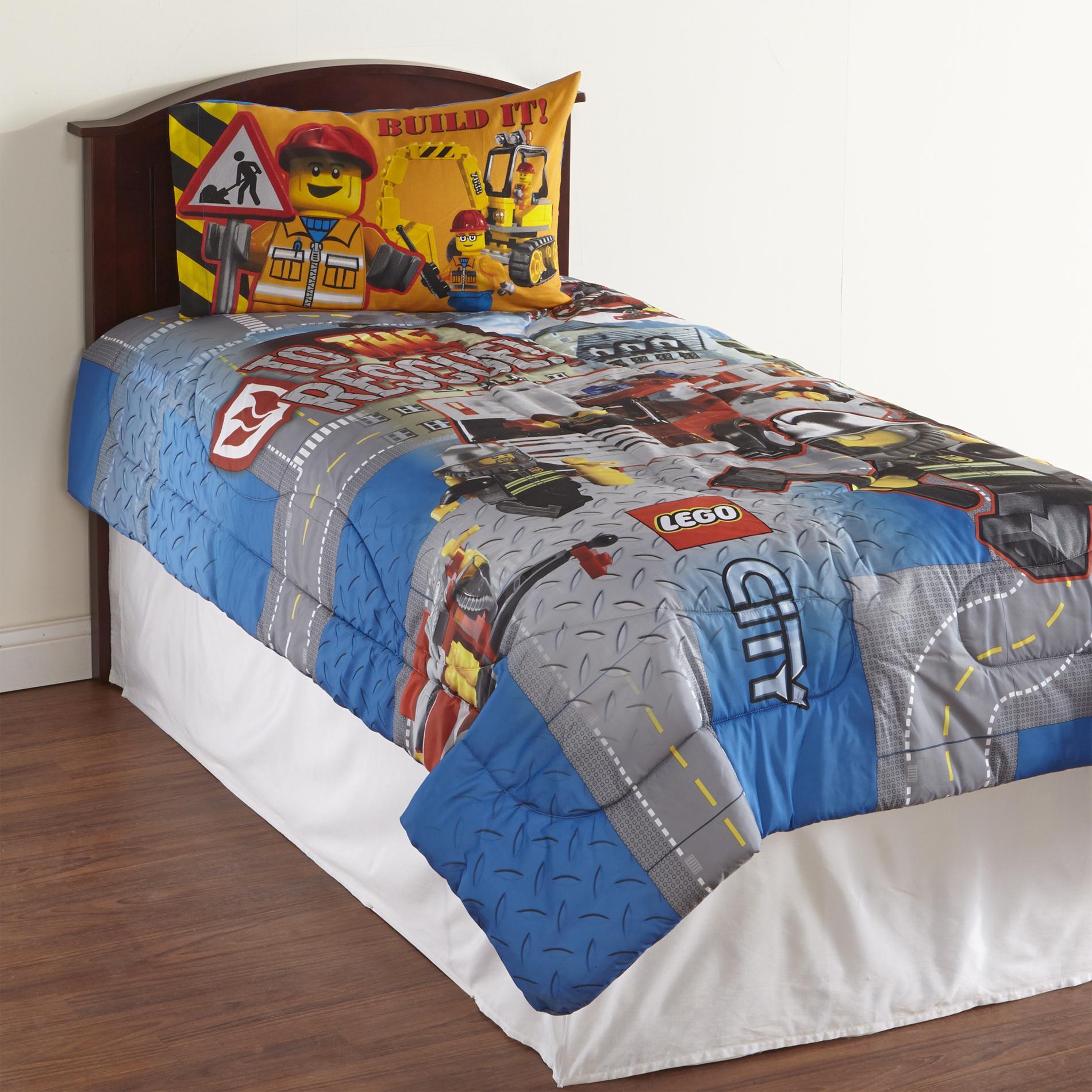 LEGO Boys Microfiber Comforter