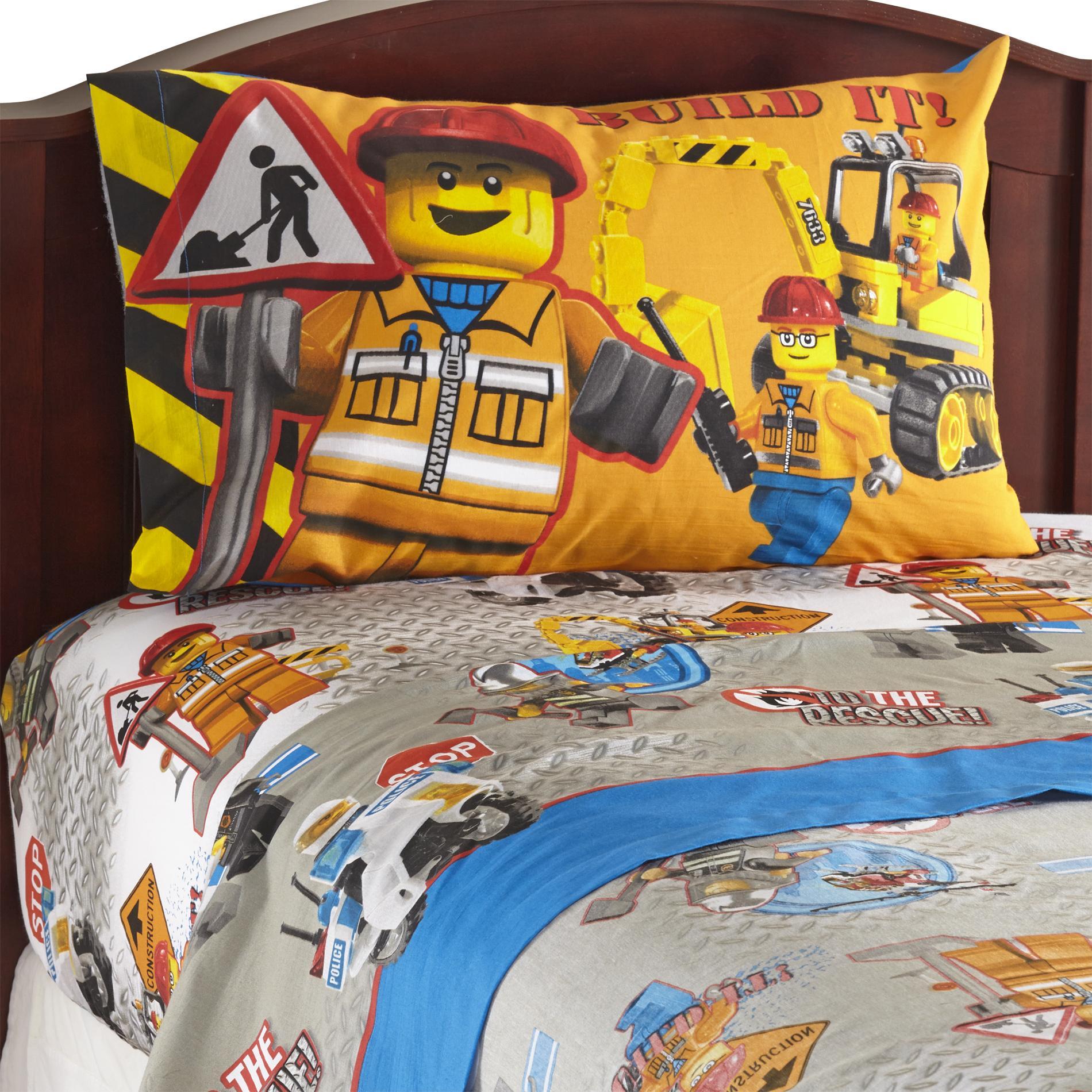 LEGO Boys Sheet Set  Home  Bed  Bath  Bedding  Sheets