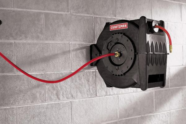 Craftsman Levelwind Hose Reel Retractable 3 8 In. X 50 Ft. Free Ship