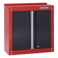 """Craftsman 28"""" Wide Wall Cabinet - Red/Black"""