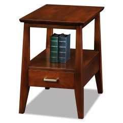 Chair Side Tables With Storage Chairs For Church Leick Delton Chairside Solid Wood End Table