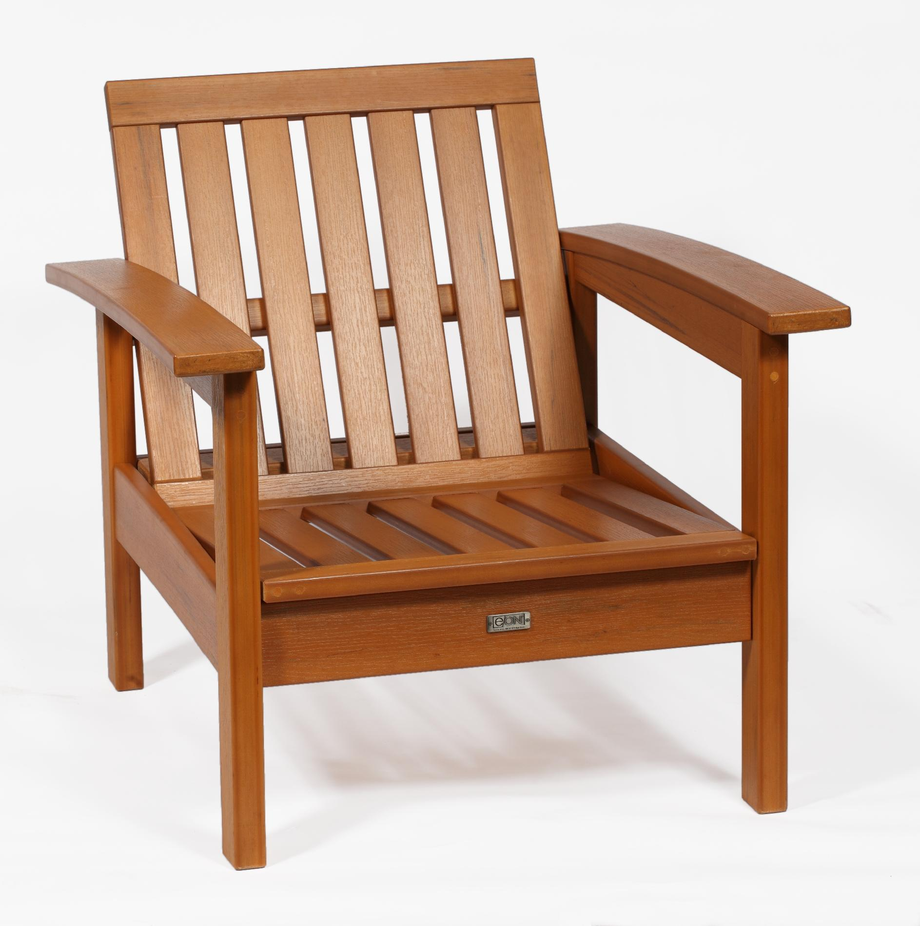 Deep Seating Patio Chairs Eon Deep Seating Patio Chair Teak Outdoor Living