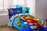 Nintendo Mario Twin/Full Comforter - Home - Bed & Bath ...