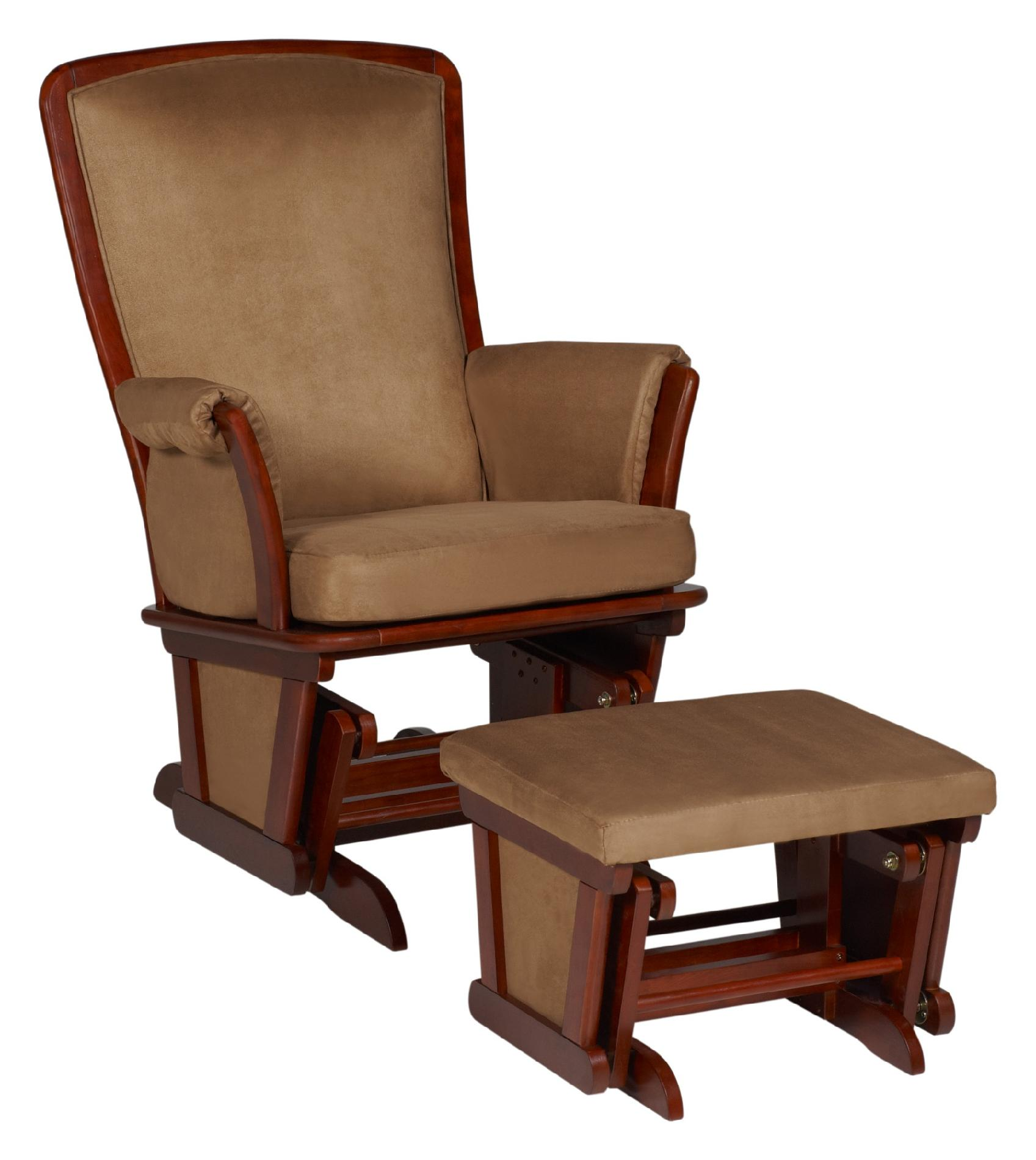 kids upholstered rocking chair contemporary lounge delta children glider and ottoman vintage