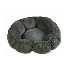 Aspen Pet Sofa Bed For Dogs Cats Assorted Colors American Leather Quality Upc 029695274596 Dos Cat Puffy Round 18 Inches