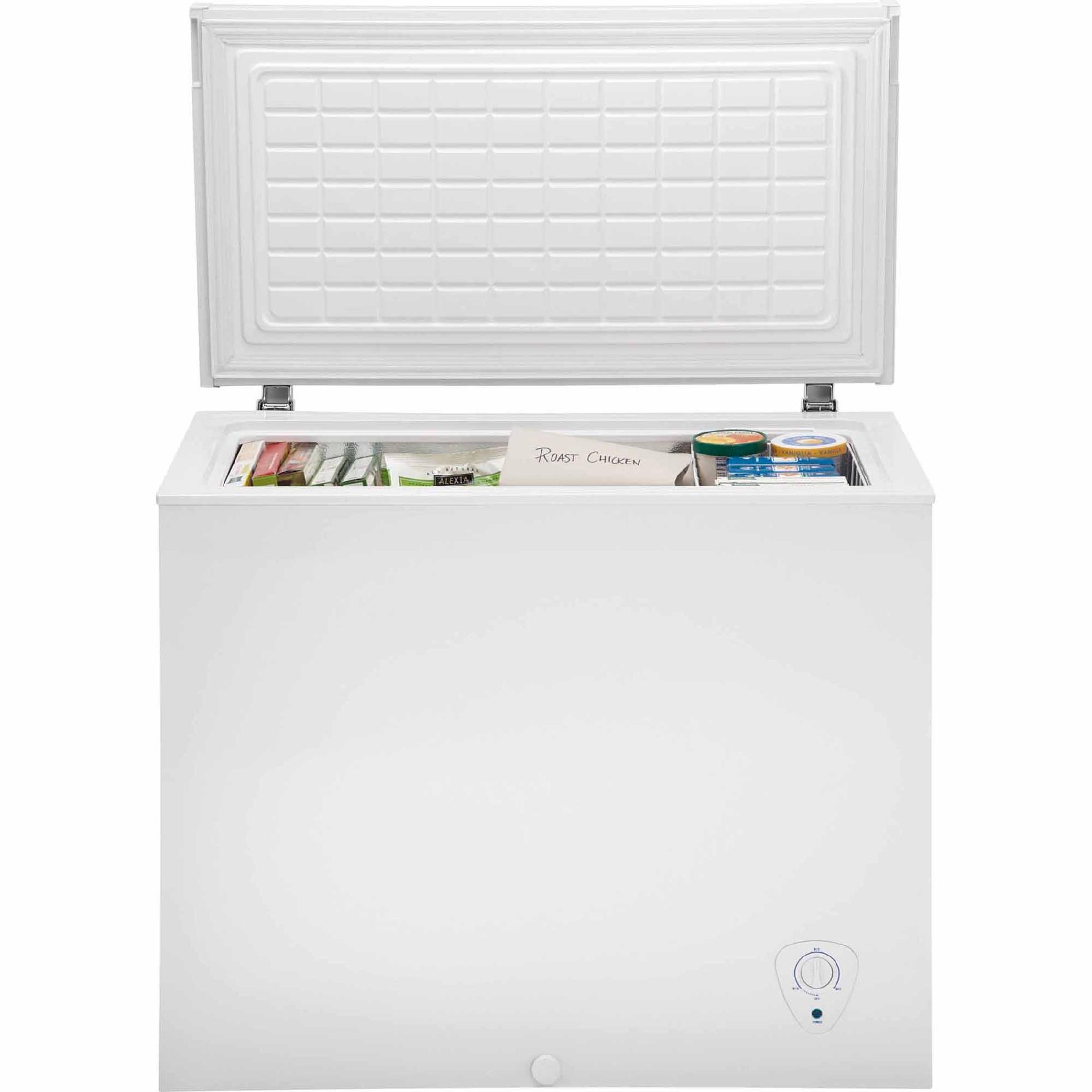 hight resolution of kenmore 12702 7 2 cu ft chest freezer whitekenmore freezer 8