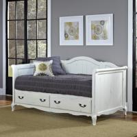 Home Styles Rubbed White French Countryside Daybed - Home ...
