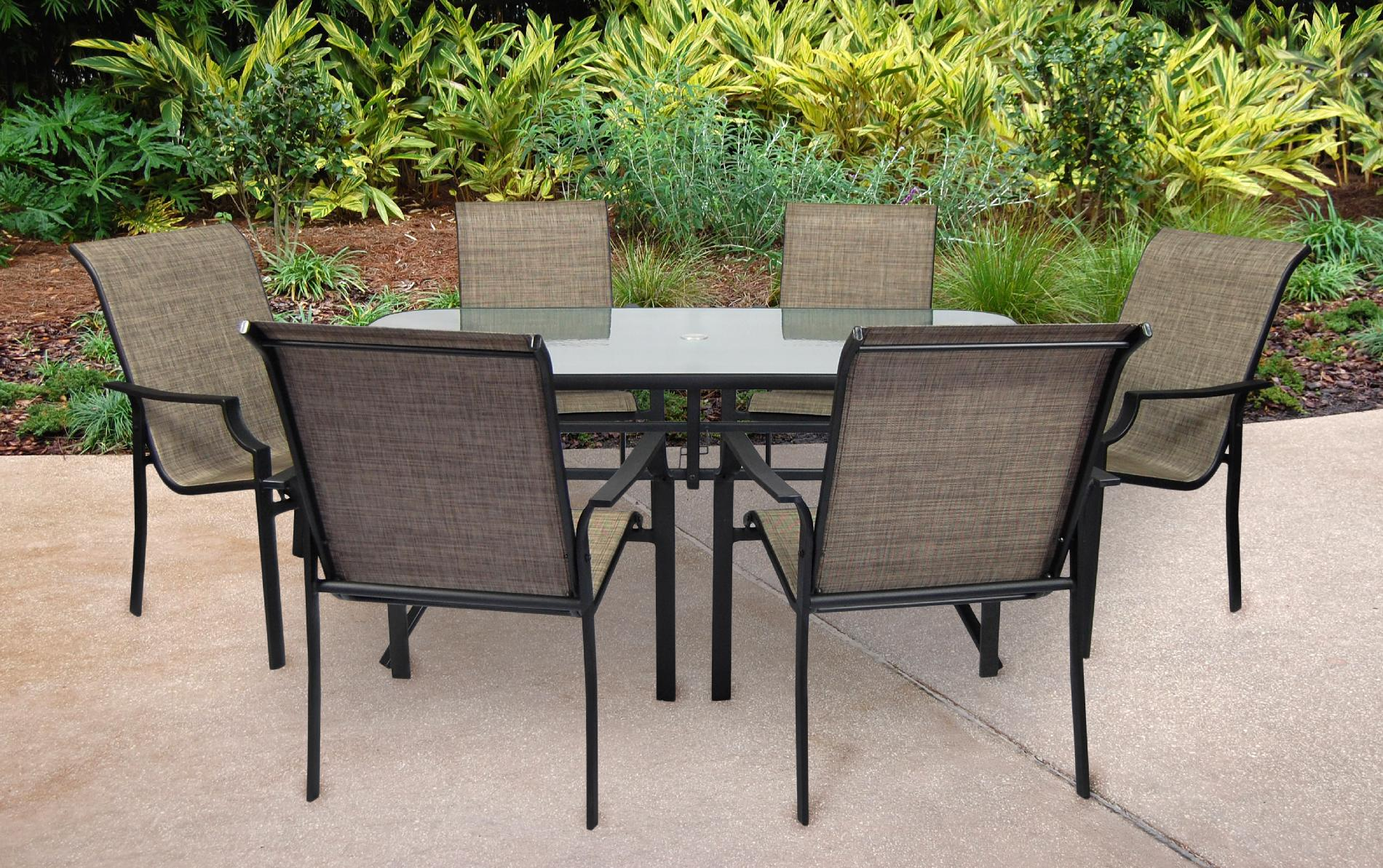 Ss-355-2set - Fairfield 7 Pc Patio Dining Set Sears Outlet