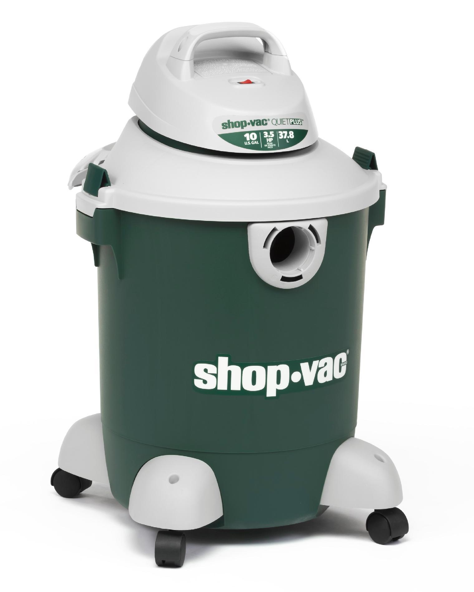 Vac 5981000 10 Gallon 3.5 Peak Hp Quiet Wet Dry Vac