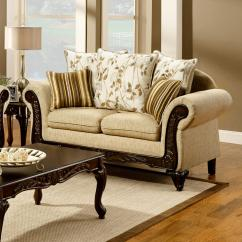 Sofas And Loveseats Made In Usa Sofaworks College Venetian Worldwide Doncaster Tan Fabric Loveseat W