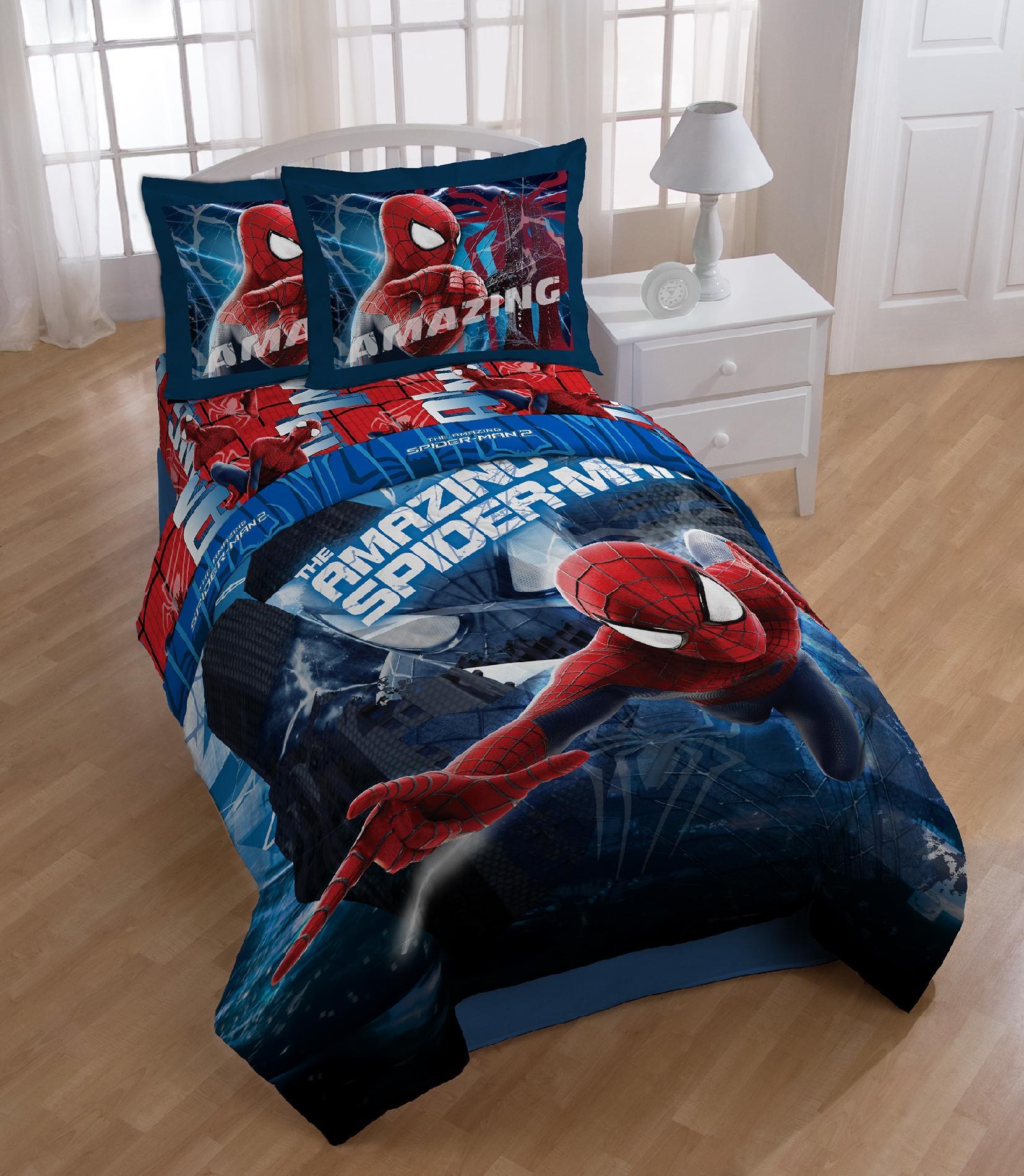 Marvel Spiderman Twin Full Comforter