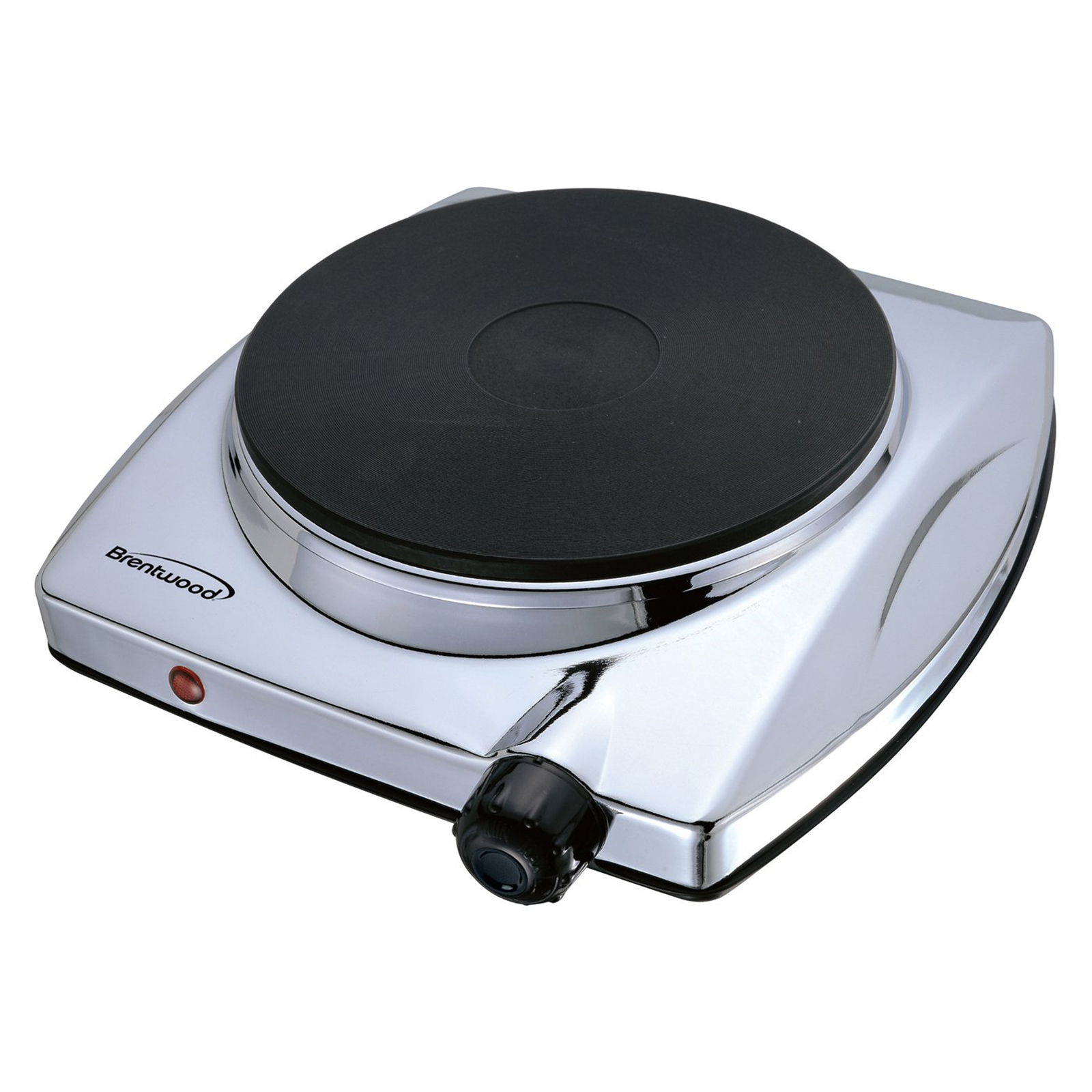 Brentwood 97083279m Electric Single Hot Plate - Chrome