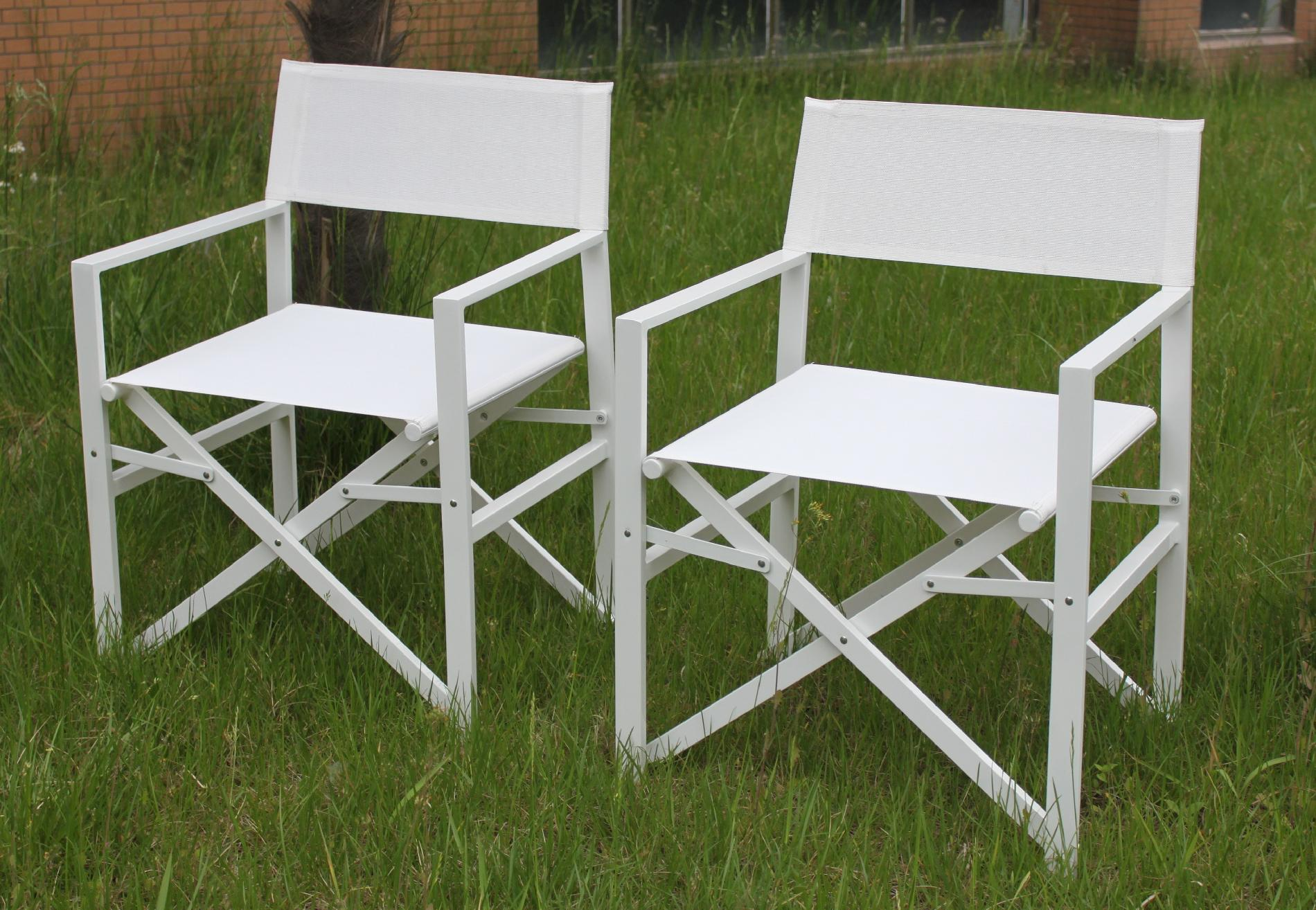 Outdoor Directors Chairs Bellini Home And Gardens Vancouver Bianco Folding Outdoor