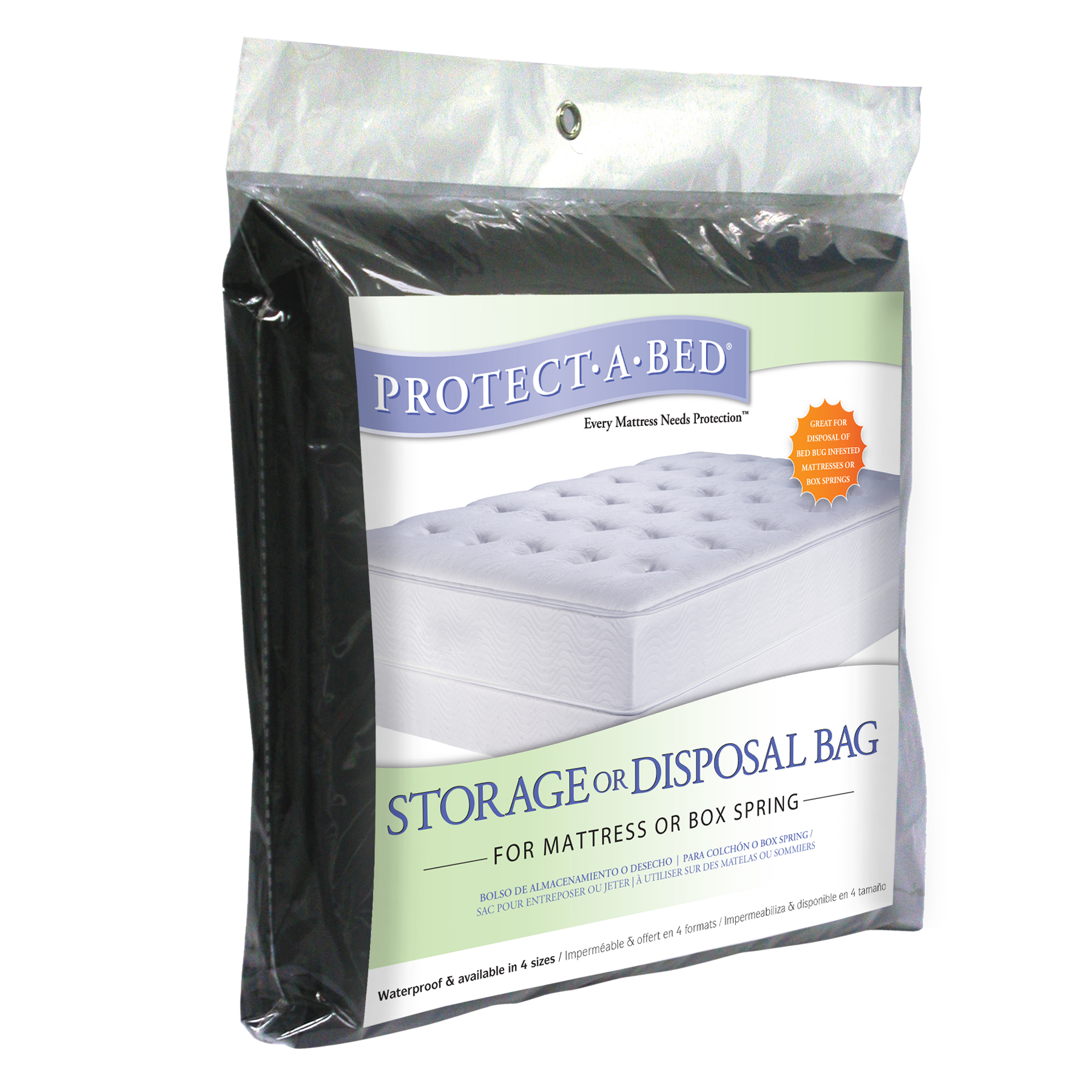 ProtectABed Storage or Disposal Bag for Mattress or Box