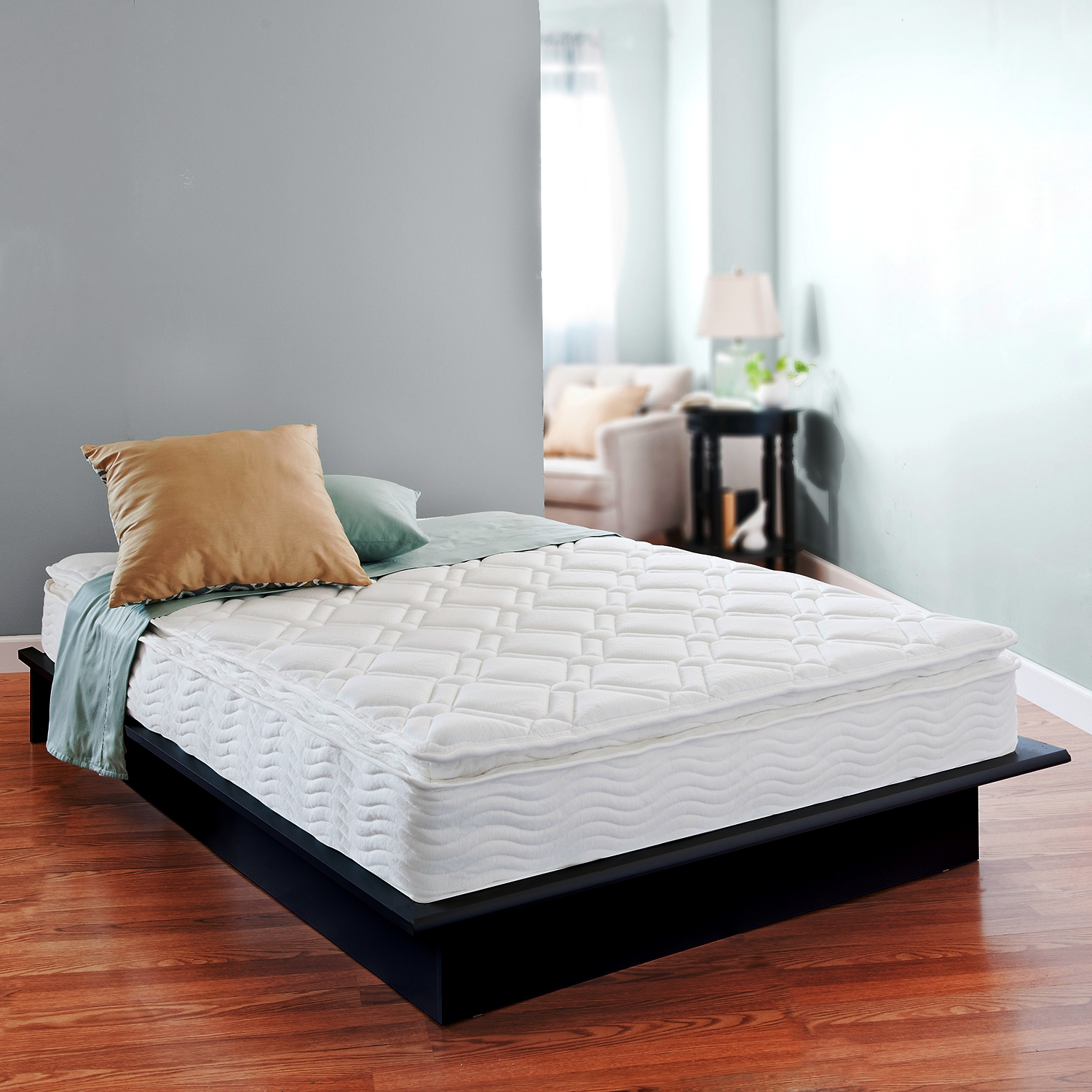 Night Therapy 10 Pillow Top Spring Mattress Twin - Home Mattresses & Accessories