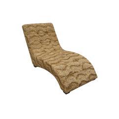 Cheetah Print Folding Chair Oversized Corner Ore International Modern Leopard Chaise