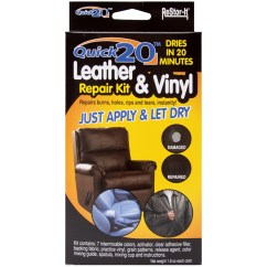 Leather Sofa Repair Kits For Rips Cover Ikea Malaysia Quick 20 And Vinyl Kit