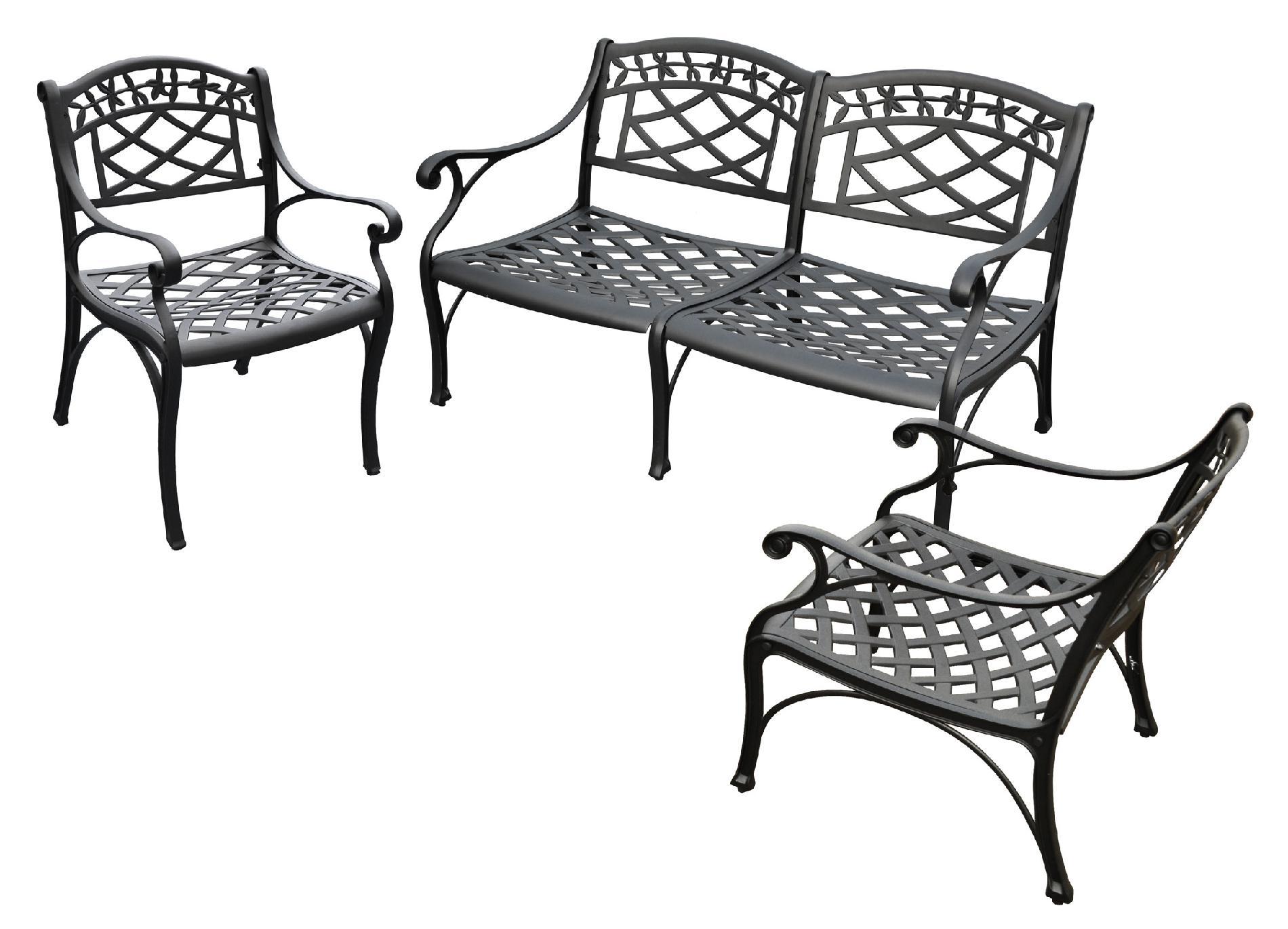 Cast Aluminum Powder Coated Outdoor Furniture