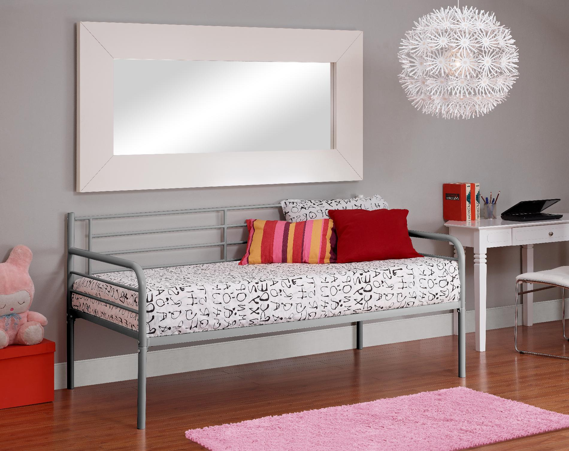 Silver Metal Daybed