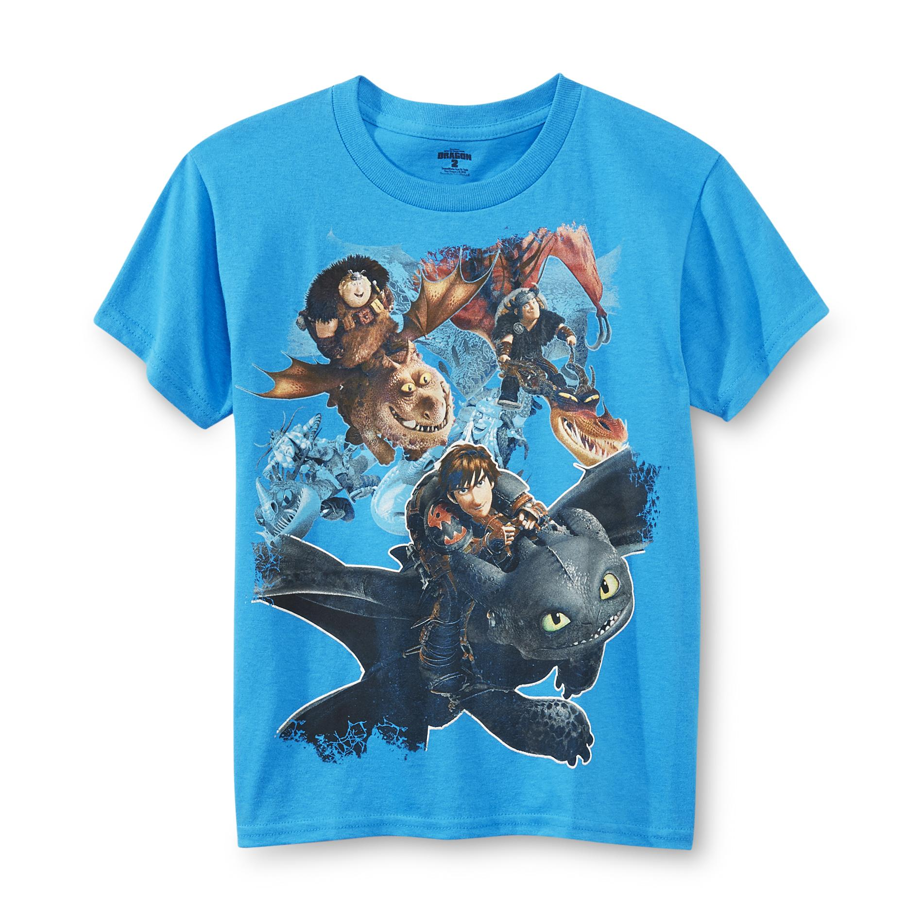 Dreamworks Boys Graphic T Shirt How To Train Your Dragon 2