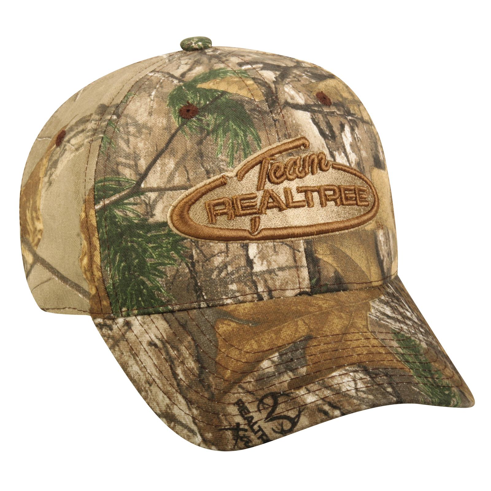 Team Realtree Signature Camo Hat