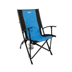 Outdoor Sports Chairs Wicker Papasan Chair Coleman High Sling Back Blue Black 2000014213