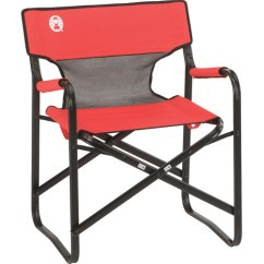 Folding Picnic Chairs B Q Best Lumbar Support Office Chair Coleman Steel Deck W Mesh Red Grey Black 2000009888