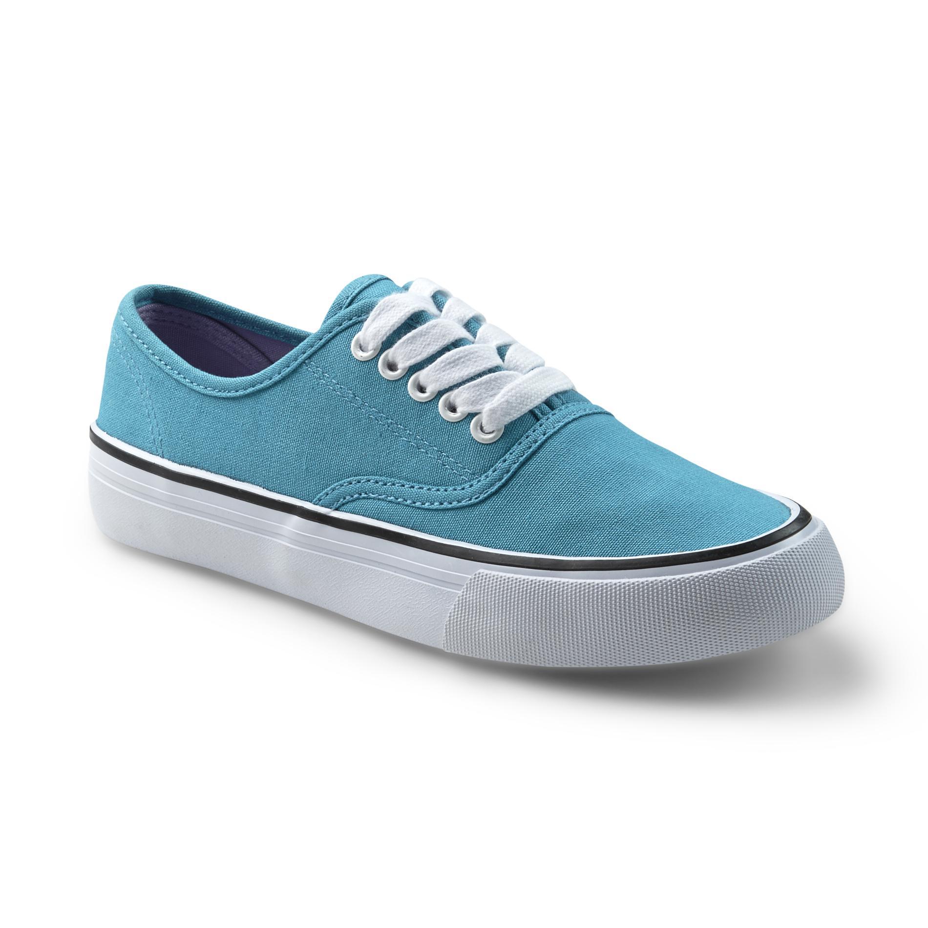 Bongo Women' Sonoma Turquoise Canvas Shoe - Shoes Flats