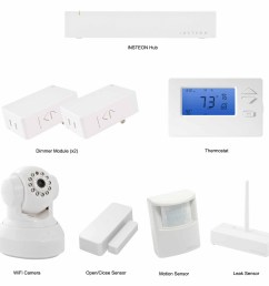 insteon connected home automation starter kit [ 1864 x 1864 Pixel ]