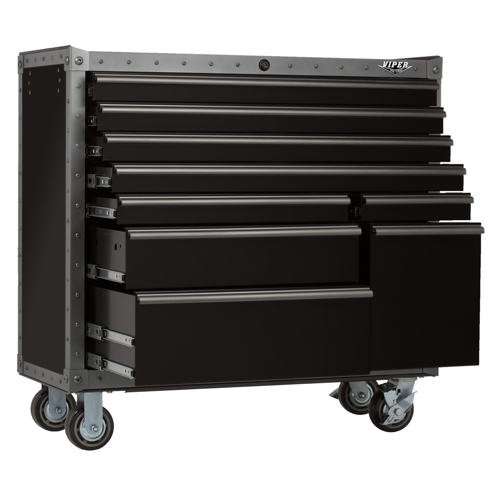 Viper Tool Storage 41inch 9Drawer ARMOR Series Rolling