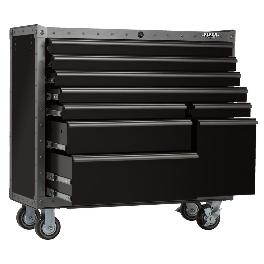 Viper Tool Storage 41- 9-drawer Armor Series Rolling
