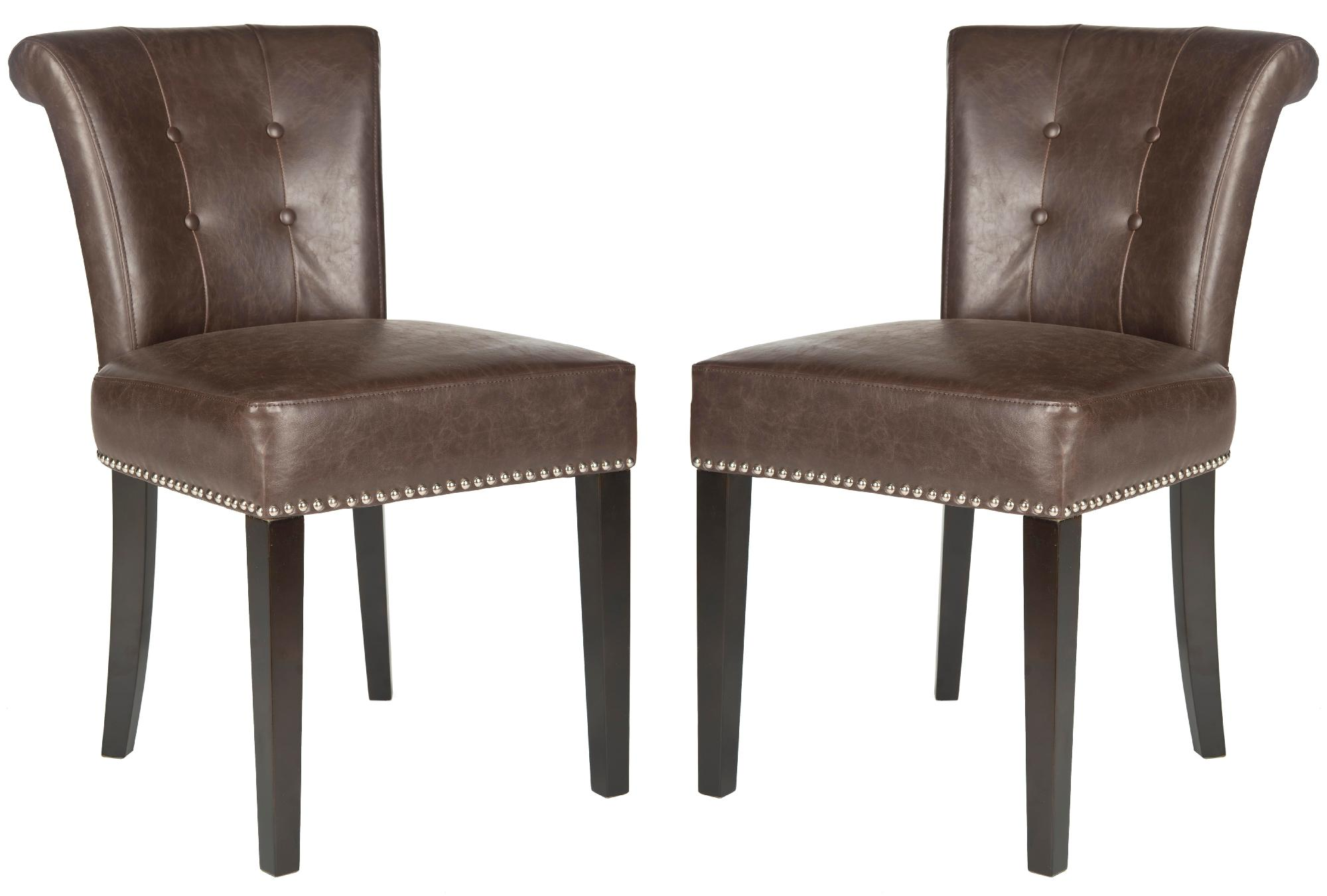 safavieh sinclair ring side chair ikea poang parts 21 39 39h set of 2 silver