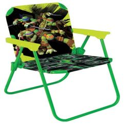 Ninja Turtles Chair Leather Wingback Dining Kids Only Resin Patio Nickelodeon Teenage Mutant