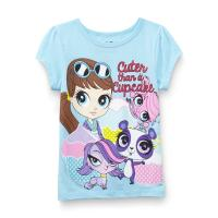 Littlest Pet Shop Girl's Graphic T-Shirt