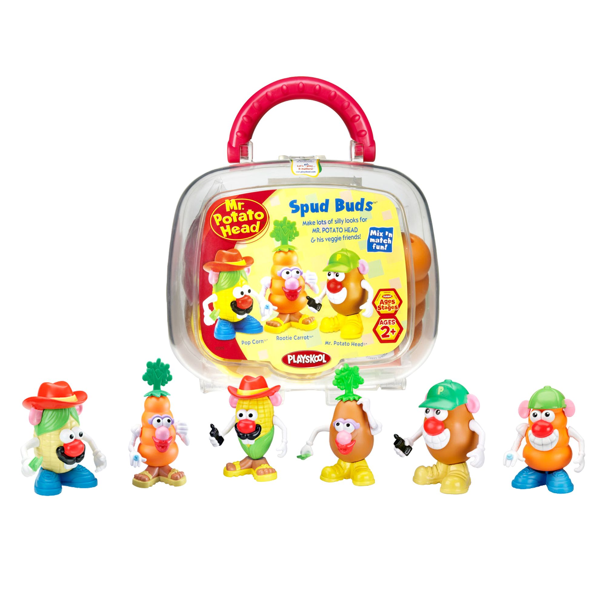 Playskool . Potato Head Spud Buds - Styles