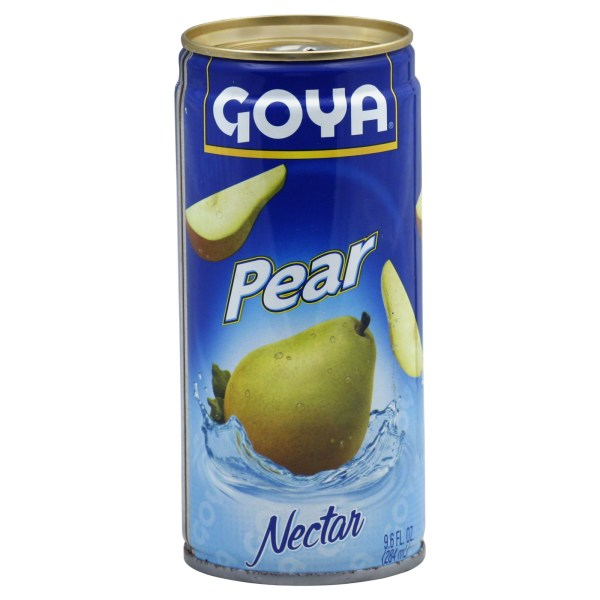 Goya Nectar Juice Pear 12 Fl Oz 0.355 L
