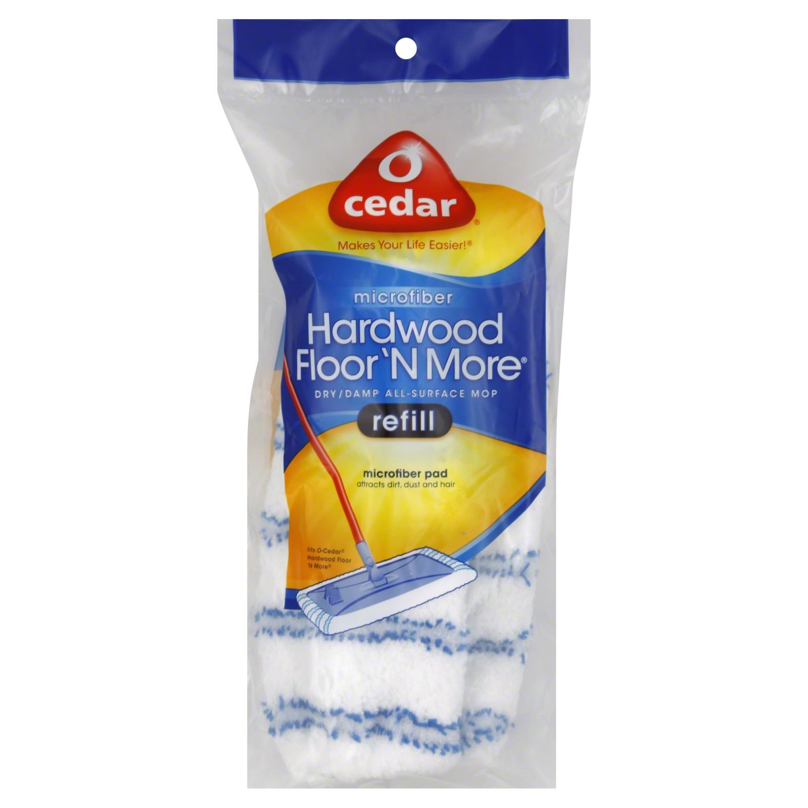 Cedar Hardwood Floor ' Mop Refill
