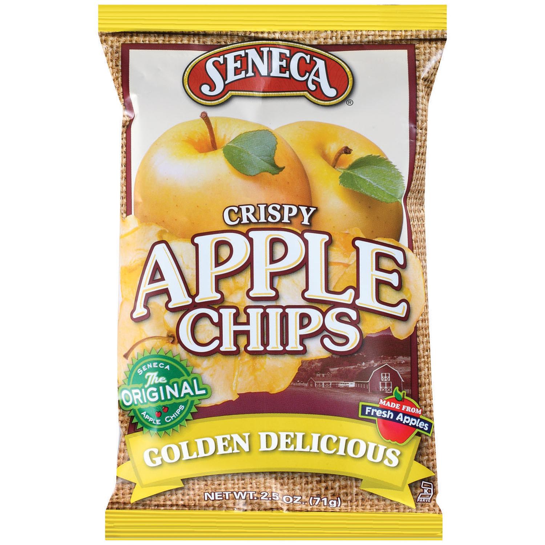 Seneca Crispy Golden Delicious Apple Chips 25 OZ PEG
