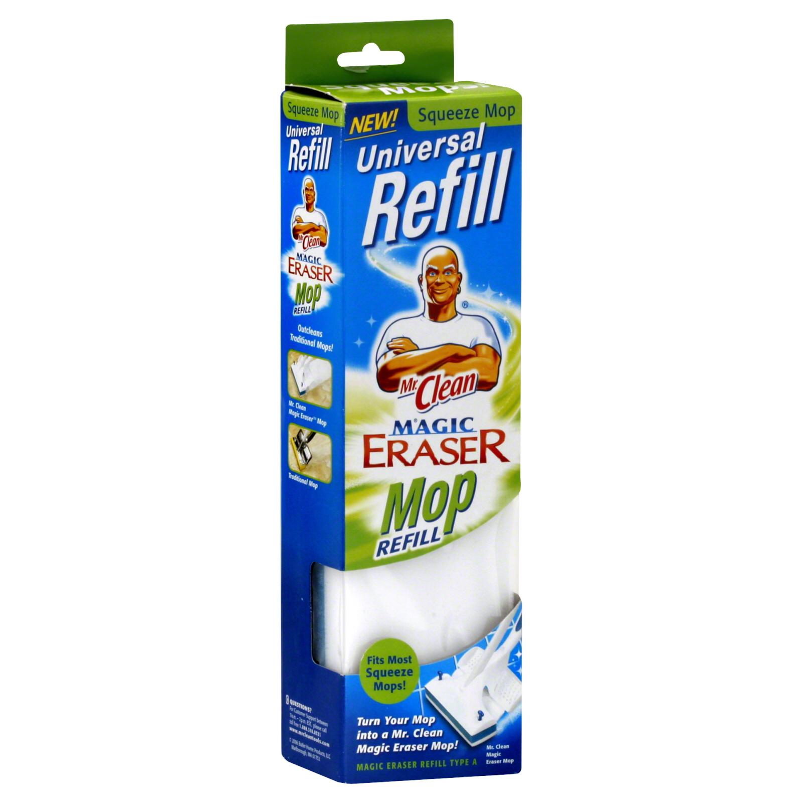 Clean Magic Eraser Mop Refill 1