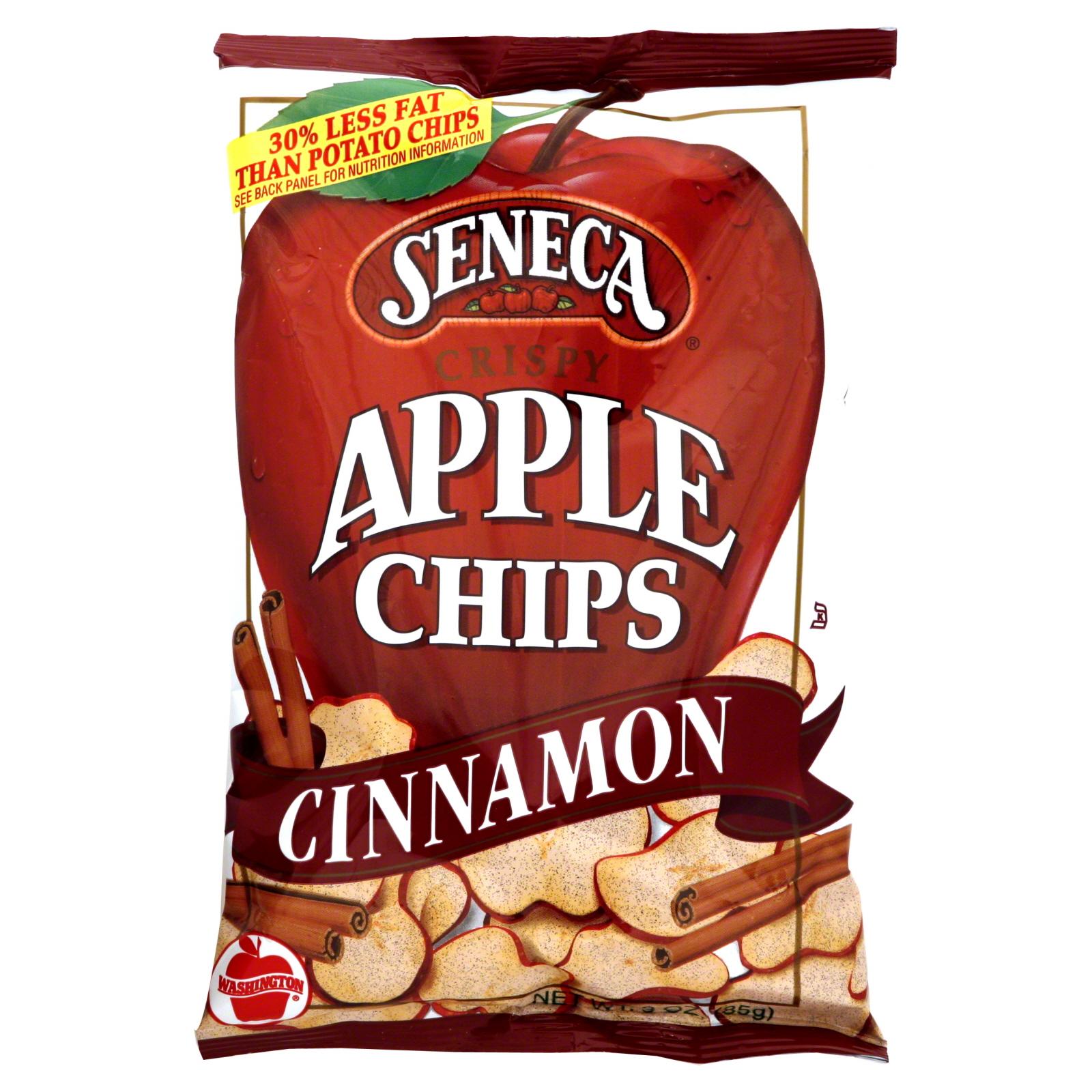 Seneca Crispy Cinnamon Apple Chips 25 OZ PEG Food