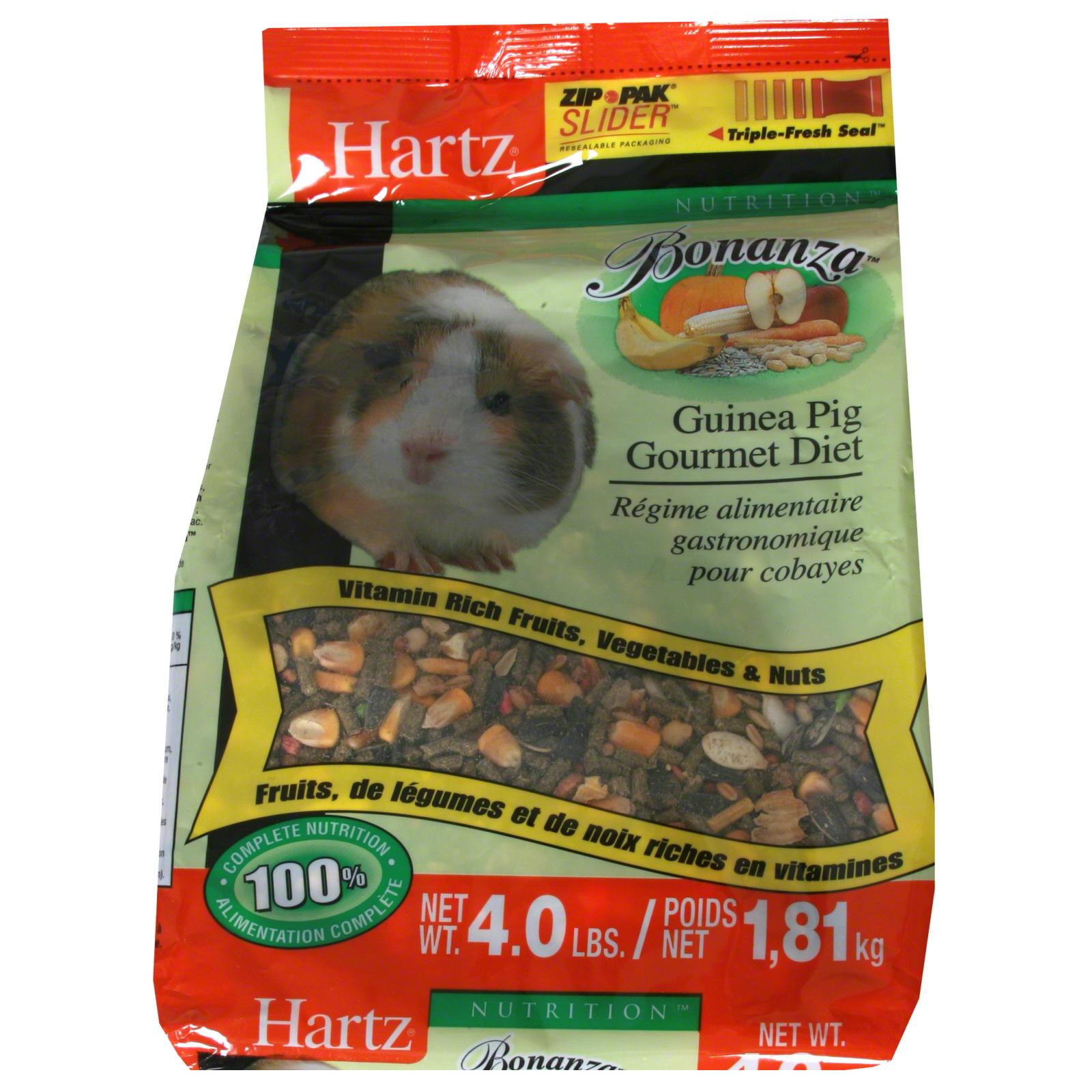 Hartz Nutrition Bonanza Guinea Pig Gourmet Diet 4 lb 1