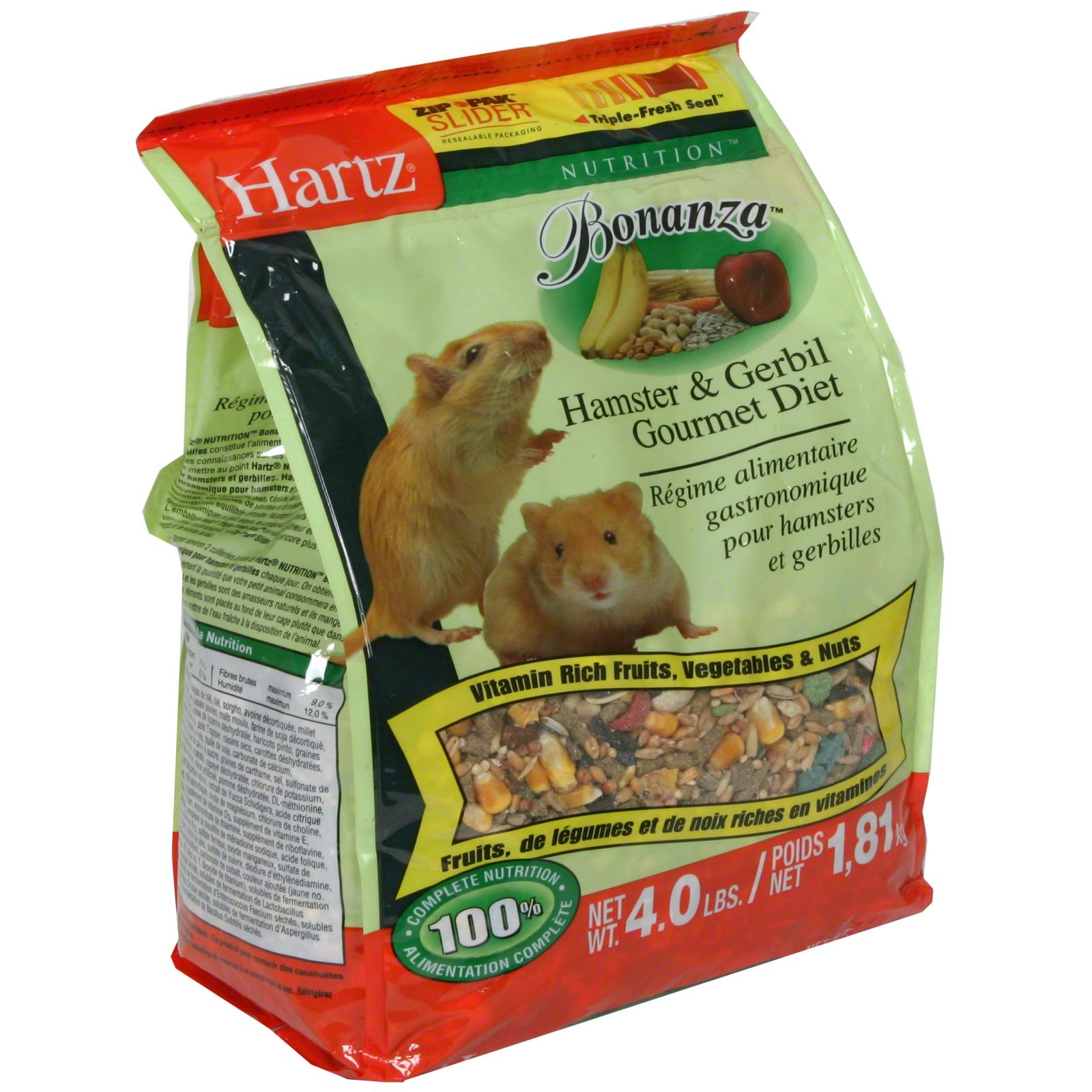Hartz Nutrition Hamster Gerbil Gourmet Diet Bonanza 4