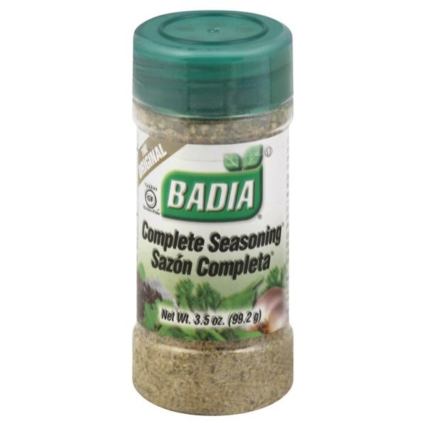 Upc 033844000080 - Badia Complete Seasoning 12 Jars 3.5